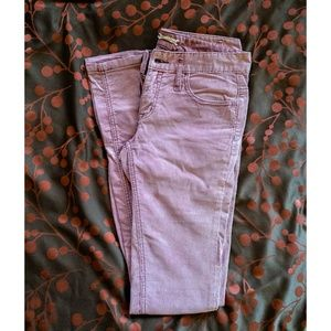 Free People corduroys size 27 tall